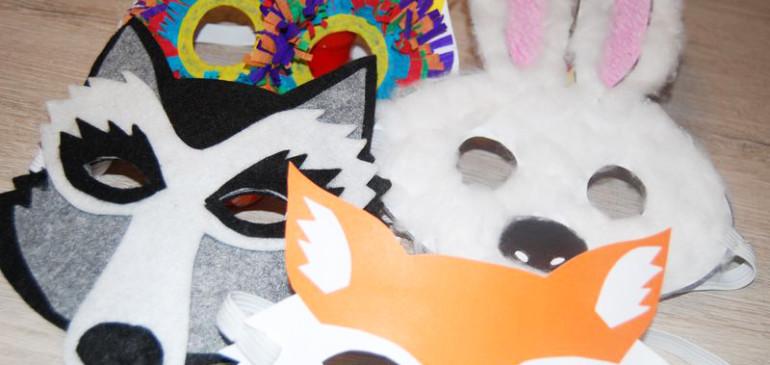 Maski karnawałowe – 4 formy