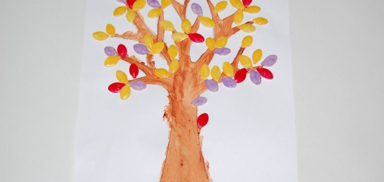 Drzewko z pestek dyni