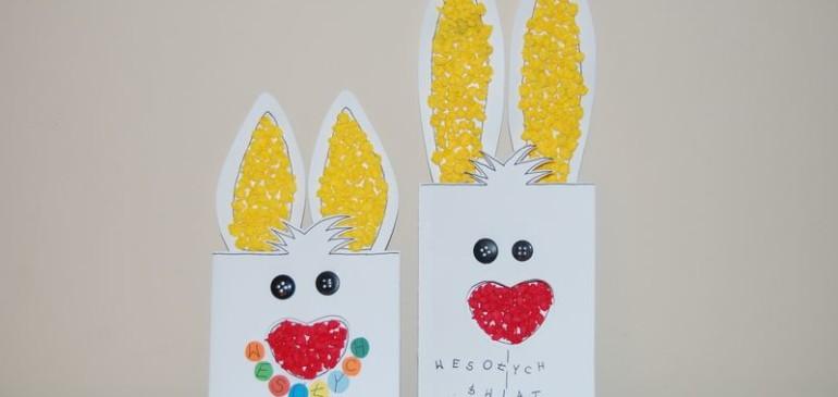 Kartka Wielkanocna – zajączek