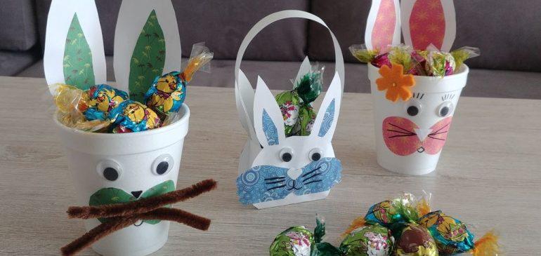 Wielkanocne koszyczki KRÓLICZKI